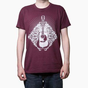 Other - ACOUSTIC GUITAR DESIGN CLASSIC ROCK T SHIRT